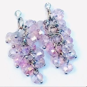 Bead Cluster Sparkle Earrings